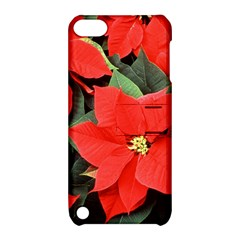 Poinsettia Apple Ipod Touch 5 Hardshell Case With Stand by trendistuff