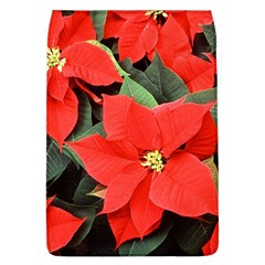 Poinsettia Flap Covers (l)  by trendistuff