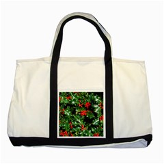 Holly 2 Two Tone Tote Bag  by trendistuff