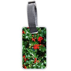 Holly 2 Luggage Tags (one Side)  by trendistuff