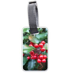 Holly 1 Luggage Tags (one Side)  by trendistuff