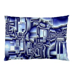 Reflective Illusion 01 Pillow Cases by MoreColorsinLife