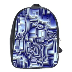 Reflective Illusion 01 School Bags(large)  by MoreColorsinLife