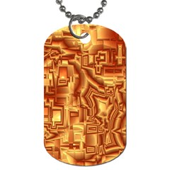 Reflective Illusion 02 Dog Tag (two Sides) by MoreColorsinLife