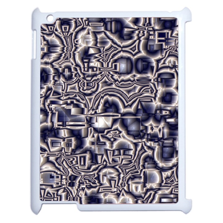 Reflective Illusion 04 Apple iPad 2 Case (White)