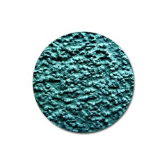 Green Metallic Background, Magnet 3  (round) by Costasonlineshop
