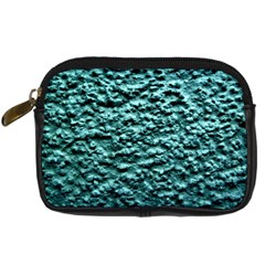 Green Metallic Background, Digital Camera Cases by Costasonlineshop