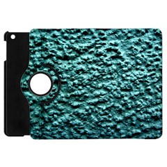 Green Metallic Background, Apple Ipad Mini Flip 360 Case by Costasonlineshop