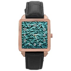 Green Metallic Background, Rose Gold Watches by Costasonlineshop