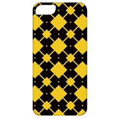 Connected Rhombus Pattern			apple Iphone 5 Classic Hardshell Case by LalyLauraFLM
