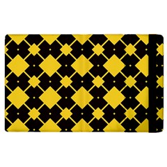Connected Rhombus Pattern			apple Ipad 2 Flip Case by LalyLauraFLM