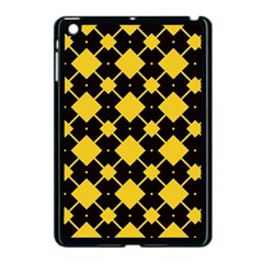 Connected Rhombus Pattern			apple Ipad Mini Case (black) by LalyLauraFLM