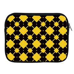 Connected Rhombus Pattern			apple Ipad 2/3/4 Zipper Case by LalyLauraFLM