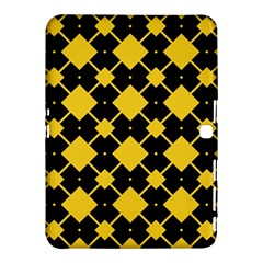 Connected Rhombus Pattern			samsung Galaxy Tab 4 (10 1 ) Hardshell Case by LalyLauraFLM