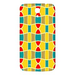 Colorful Chains Pattern			samsung Galaxy Mega I9200 Hardshell Back Case by LalyLauraFLM
