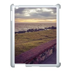 Playa Verde Coast In Montevideo Uruguay Apple Ipad 3/4 Case (white) by dflcprints