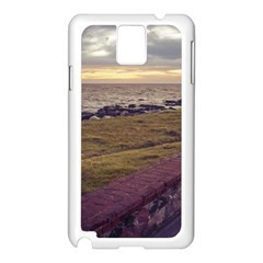 Playa Verde Coast In Montevideo Uruguay Samsung Galaxy Note 3 N9005 Case (white) by dflcprints