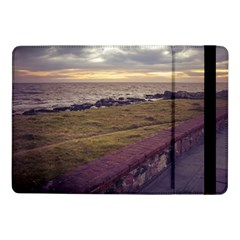 Playa Verde Coast In Montevideo Uruguay Samsung Galaxy Tab Pro 10 1  Flip Case by dflcprints