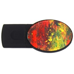 Wild Usb Flash Drive Oval (2 Gb)  by timelessartoncanvas