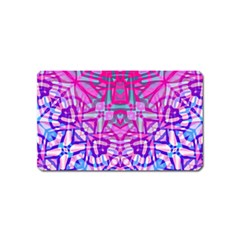 Ethnic Tribal Pattern G327 Magnet (name Card) by MedusArt