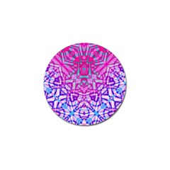 Ethnic Tribal Pattern G327 Golf Ball Marker (4 Pack) by MedusArt