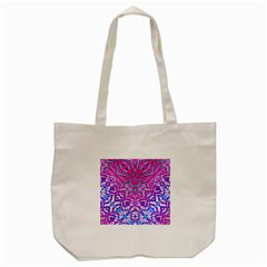 Ethnic Tribal Pattern G327 Tote Bag (cream)  by MedusArt