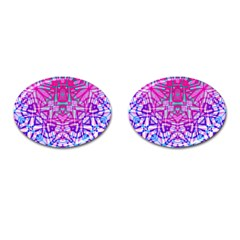 Ethnic Tribal Pattern G327 Cufflinks (oval) by MedusArt