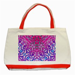 Ethnic Tribal Pattern G327 Classic Tote Bag (red)  by MedusArt
