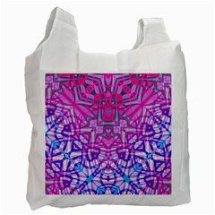 Ethnic Tribal Pattern G327 Recycle Bag (one Side) by MedusArt