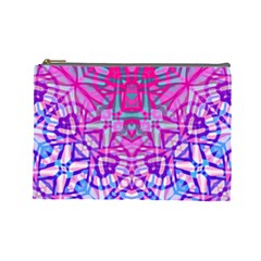 Ethnic Tribal Pattern G327 Cosmetic Bag (large)  by MedusArt