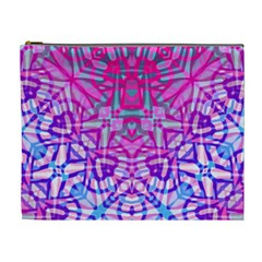 Ethnic Tribal Pattern G327 Cosmetic Bag (xl) by MedusArt