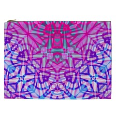 Ethnic Tribal Pattern G327 Cosmetic Bag (xxl)  by MedusArt