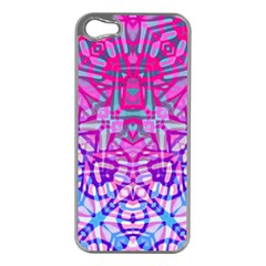Ethnic Tribal Pattern G327 Apple Iphone 5 Case (silver) by MedusArt