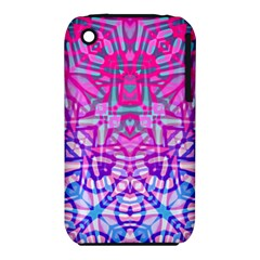Ethnic Tribal Pattern G327 Apple Iphone 3g/3gs Hardshell Case (pc+silicone) by MedusArt