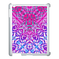 Ethnic Tribal Pattern G327 Apple Ipad 3/4 Case (white) by MedusArt
