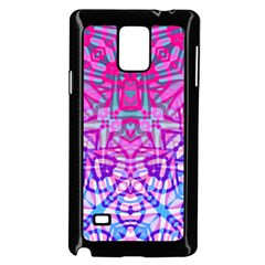 Ethnic Tribal Pattern G327 Samsung Galaxy Note 4 Case (black) by MedusArt