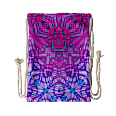 Ethnic Tribal Pattern G327 Drawstring Bag (small) by MedusArt