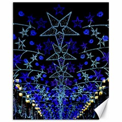 Christmas Stars Canvas 16  X 20   by trendistuff