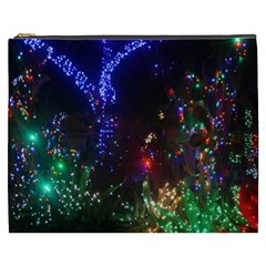 Christmas Lights 2 Cosmetic Bag (xxxl)  by trendistuff