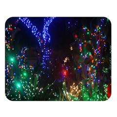 Christmas Lights 2 Double Sided Flano Blanket (large)  by trendistuff