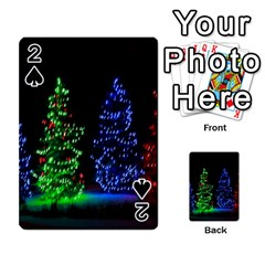 Christmas Lights 1 Playing Cards 54 Designs  by trendistuff