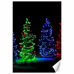 Christmas Lights 1 Canvas 12  X 18   by trendistuff