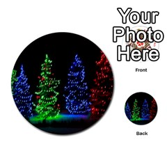 Christmas Lights 1 Multi Purpose Cards (round)  by trendistuff