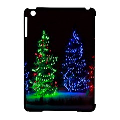 Christmas Lights 1 Apple Ipad Mini Hardshell Case (compatible With Smart Cover) by trendistuff