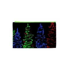 Christmas Lights 1 Cosmetic Bag (xs) by trendistuff