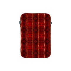 Red Gold, Old Oriental Pattern Apple Ipad Mini Protective Soft Cases by Costasonlineshop