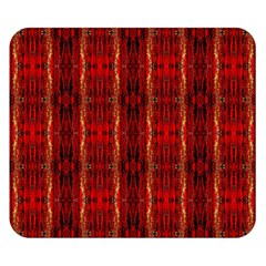 Red Gold, Old Oriental Pattern Double Sided Flano Blanket (small)  by Costasonlineshop