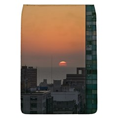 Aerial View Of Sunset At The River In Montevideo Uruguay Flap Covers (l)  by dflcprints