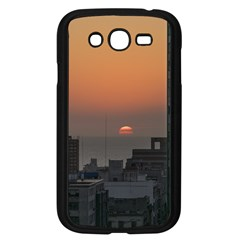 Aerial View Of Sunset At The River In Montevideo Uruguay Samsung Galaxy Grand Duos I9082 Case (black) by dflcprints