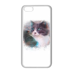 Cat Splash Png Apple Iphone 5c Seamless Case (white) by infloence